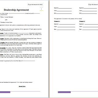 admin | Free Agreement Templates - Part 2