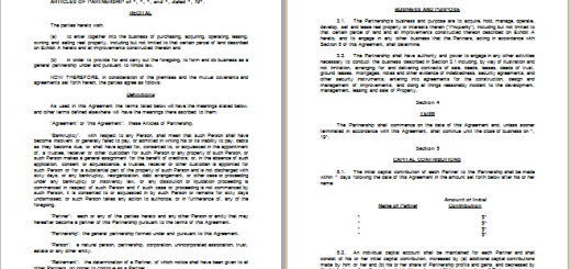 MS Word Divorce Settlement Agreement Template | Free Agreement Templates