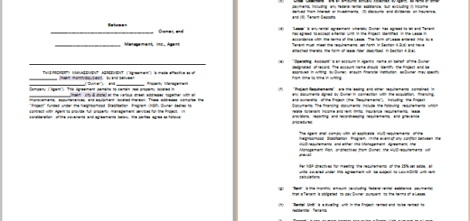 Ms Word Rental Agreement Templates Free Agreement Templates