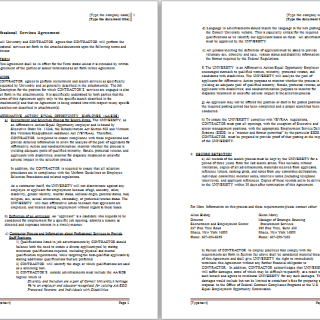 services agreement template