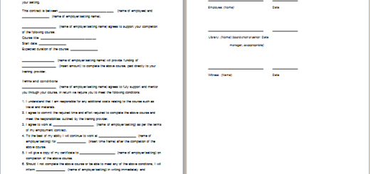 MS Word Prenuptial Agreement Template | Free Agreement Templates